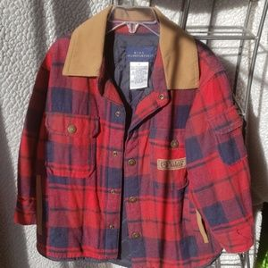 Kids Headquarters Plaid Wild Life Ranger Jacket